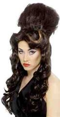 Amy Winehouse Rehab Beehive Wig + Tattoos